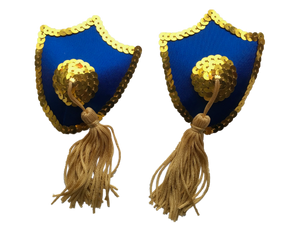 Shield Nipple Tassels