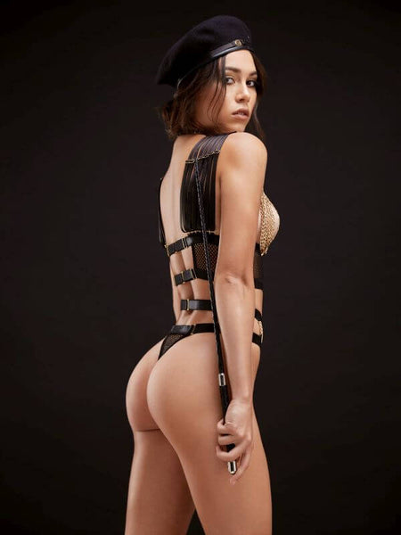 Golden Force Harness & Thong set