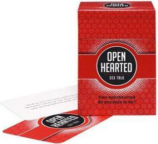 Open Hearted Sex Talk Card Game