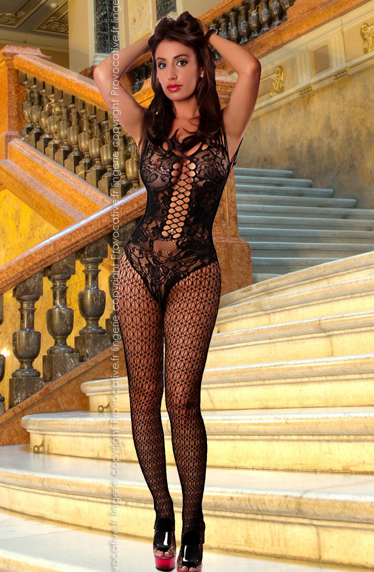 Lace Body & Cutout - Bodystocking