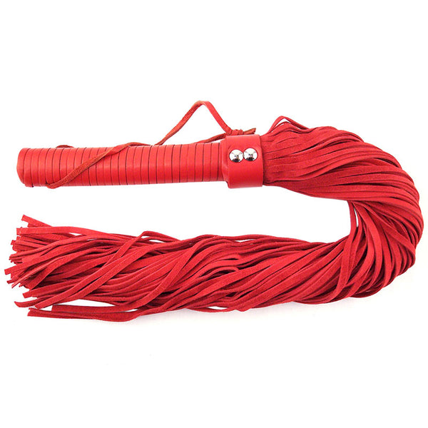 Large Suede Flogger in Pink / Purple / Red /