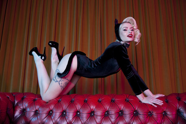 Retro Kitten Set by Bettie Page