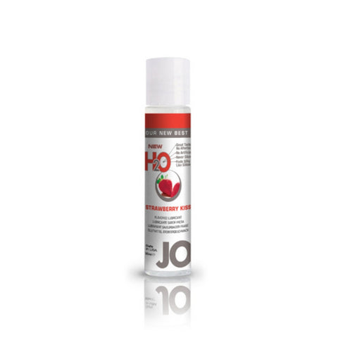 JO H2O Strawberry Kiss Flavoured Lubricant - She Said Boutique
