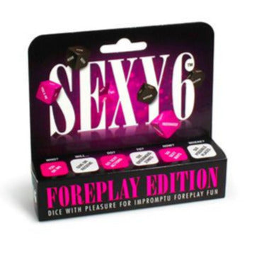 Sexy 6 Dice - Foreplay Edition