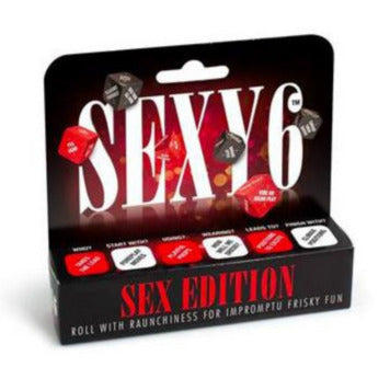 Sexy 6 Dice - Sex Edition