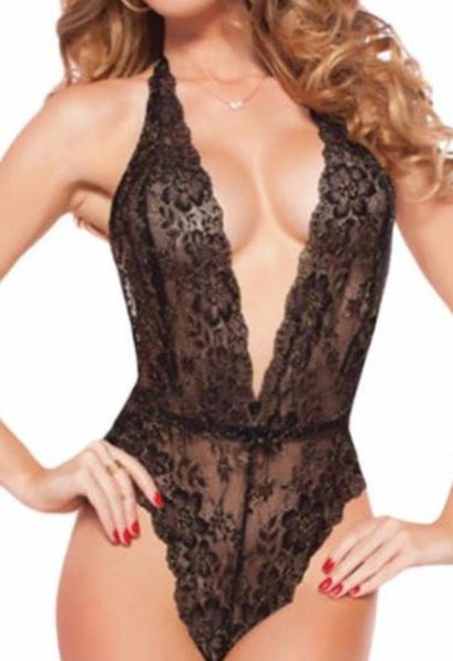 Kiss of Lace Teddy - She Said Boutique - 1
