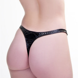 PVC Thong - She Said Boutique - 2