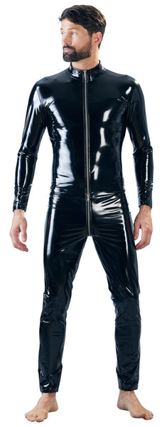 Vinyl Jumpsuit Men