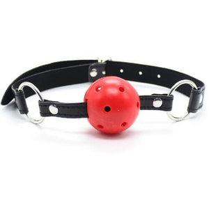 Breathable Ball Gag - Red Ball