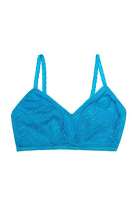 Emma Non Wired Turquoise Bralette (30DD-40F)