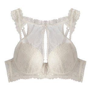 Fleur Padded Bra in Ivory (Last Chance To Buy - 34C, 34DD, 36D, 36DD)