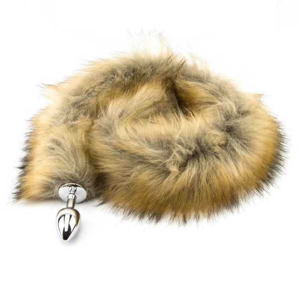 Faux fur fox tail Butt Plug