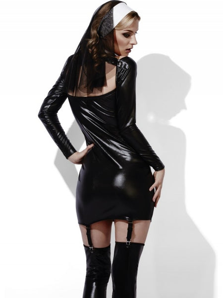 PVC Bad Nun Mini Dress Set