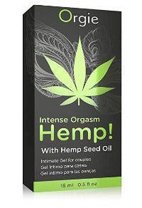 Hemp! Intense Orgasm Gel by Orgie