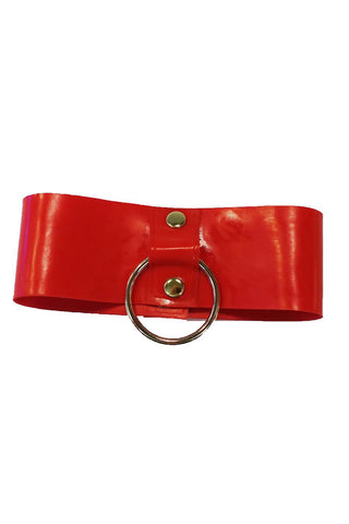 Red Latex Choker