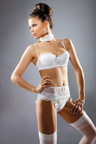 Madonna Bridal Suspender Belt - She Said Boutique - 1