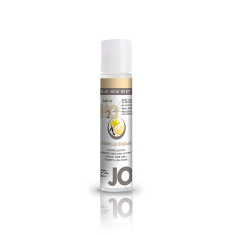 JO H2O Vanilla Cream Flavoured Lubricant - She Said Boutique
