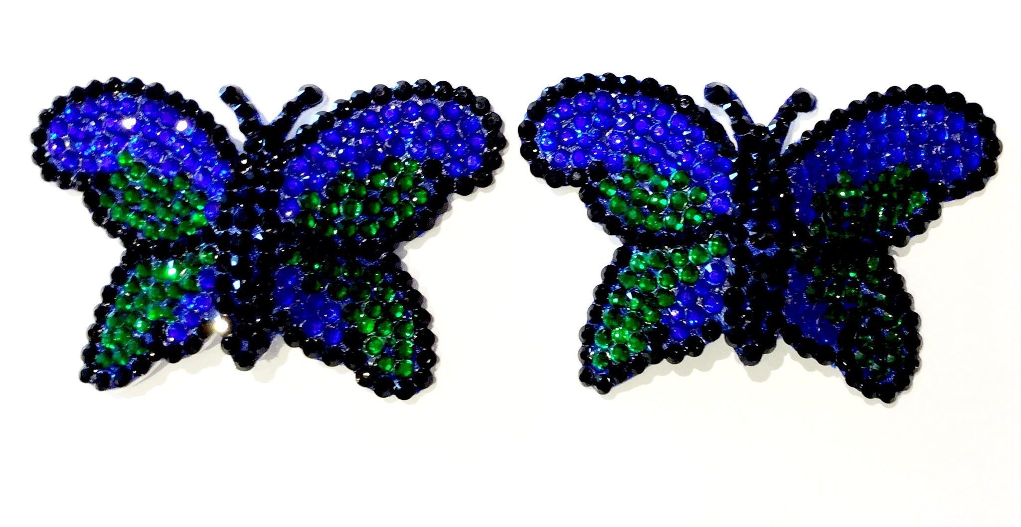 Butterfly crystal nipple pasties