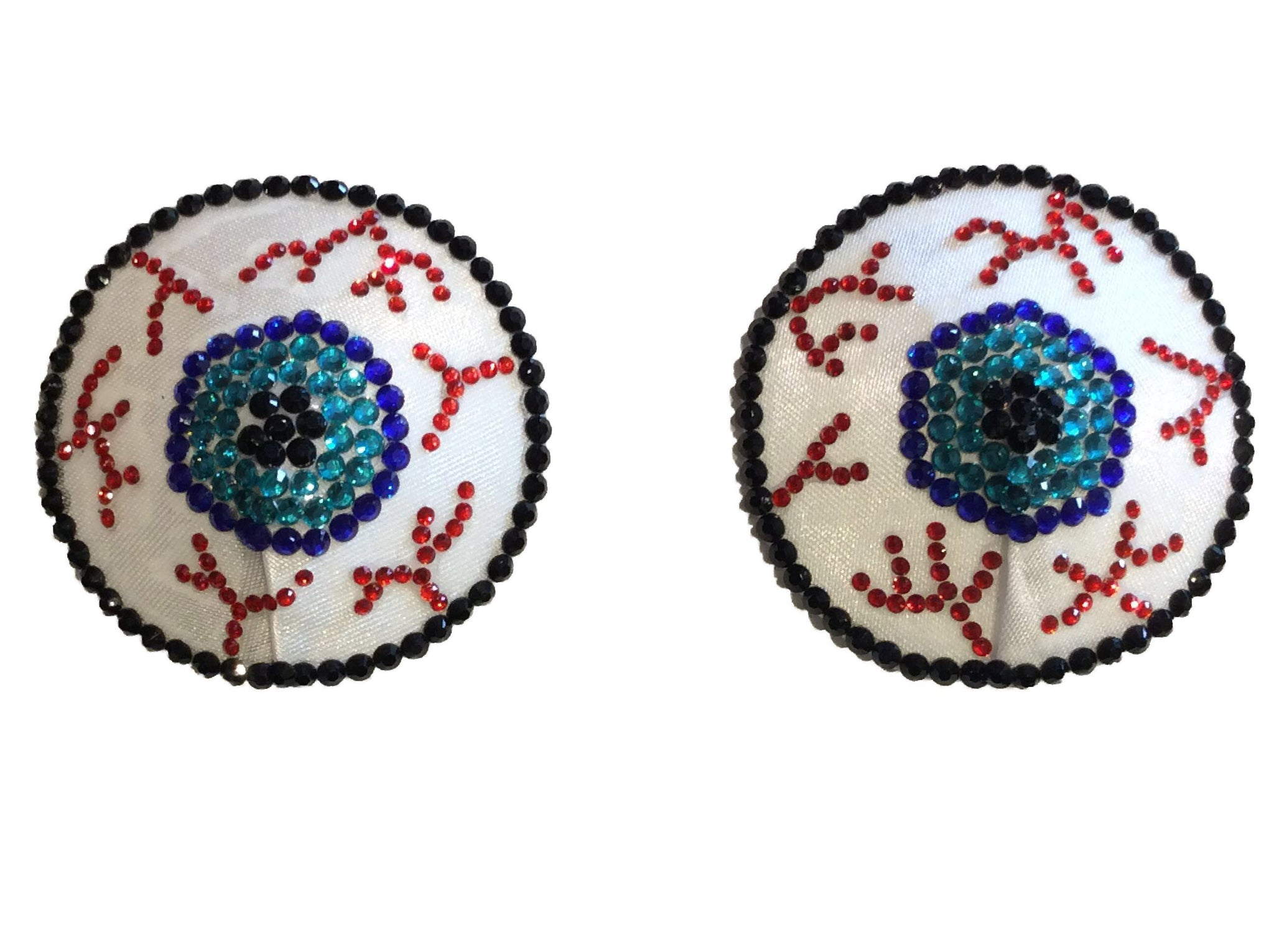 Eye Balls Nipple Pasties