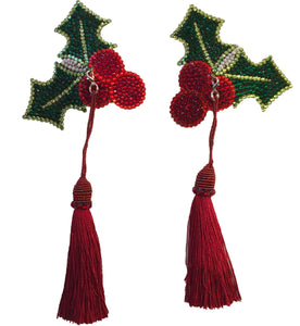 Holly Crystal Nipple Tassels