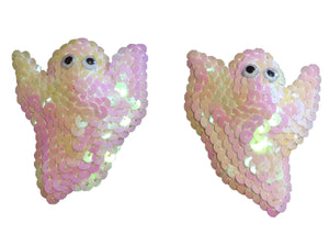 Ghosts Sequin Nipple Pasties