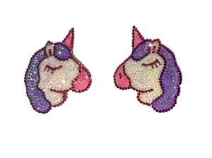 Unicorn crystal Nipple Pasties