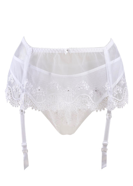 Madonna Bridal Suspender Belt