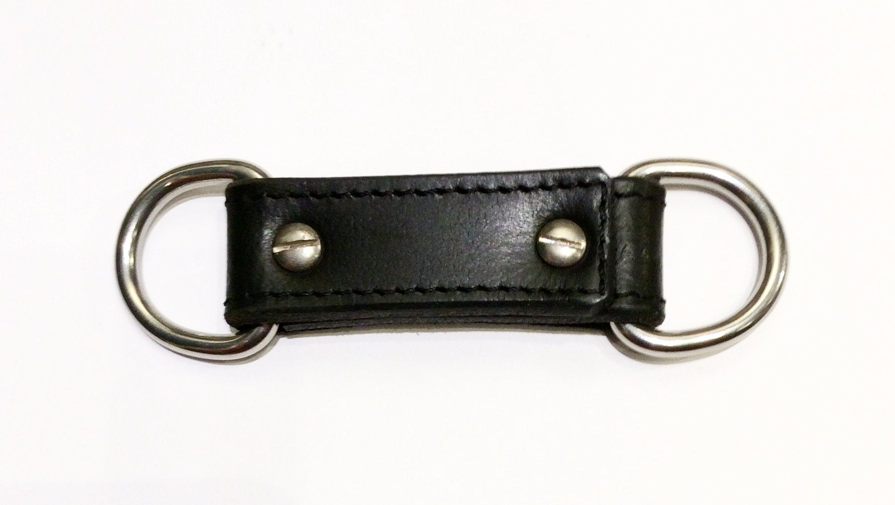 Hog Tie black leather