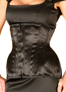 Extreme Underbust Corset in Satin