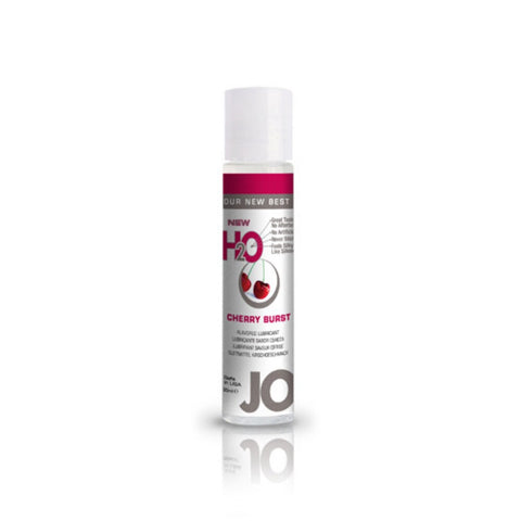 JO H2O Cherry Burst Flavoured Lubricant - She Said Boutique