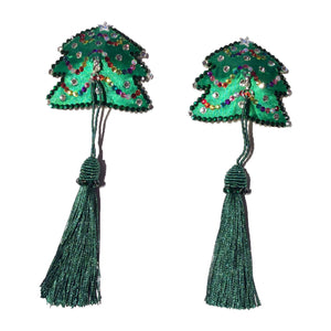 Christmas Tree Crystal with Detachable Tassel