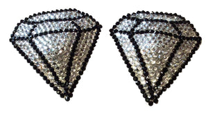 Diamond Crystal Nipple Pasties