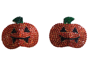 Pumpkins Crystal Nipple Pasties