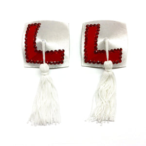 L Plates Nipple Tassels - She Said Boutique