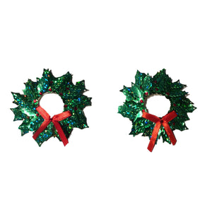 Christmas Wreath Open Nipple Pasties