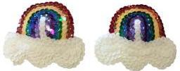 Rainbow & Clouds Sequin Nipple Pasties