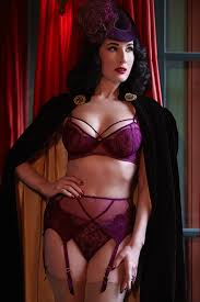 Maestra Aubergine Dream Thong