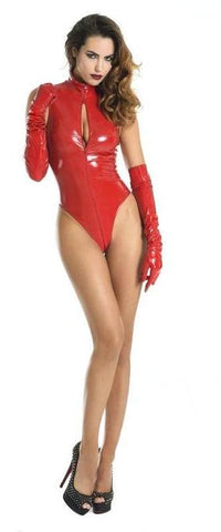 Manon Vinyl Body Red