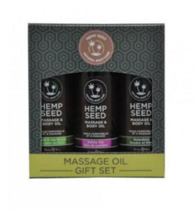 Hemp Seed Massage Oil set of 3