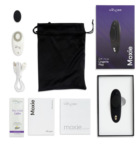 Moxie wearable clitoral vibrator by We Vibe