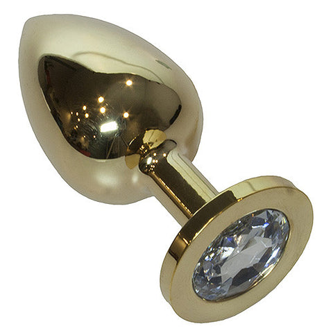 Luxury Large 24K Gold Anal Plug - She Said Boutique