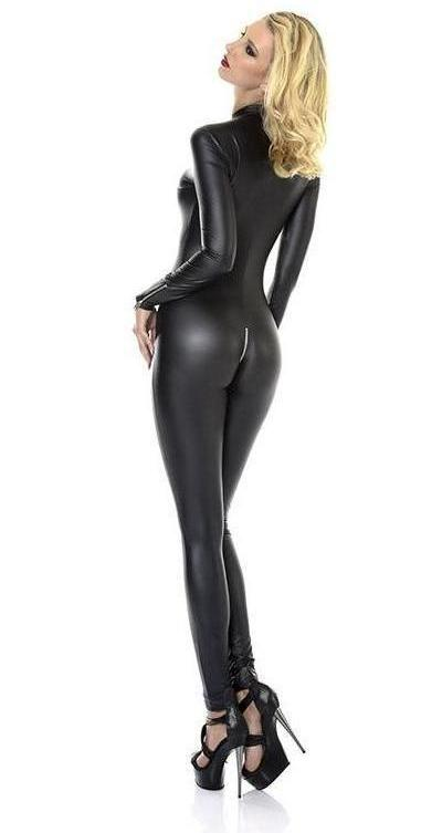 Sweety Lauque Catsuit - Black