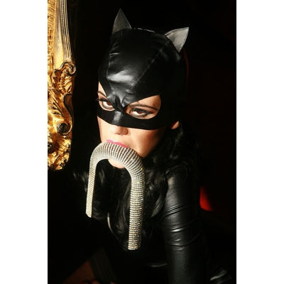 Cat Mask Black Vinyl