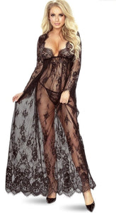 Draped in Lace Cover Up