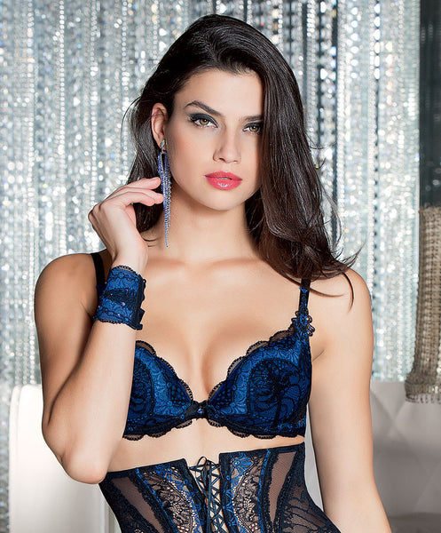 Saphir Padded Plunge Bra - She Said Boutique