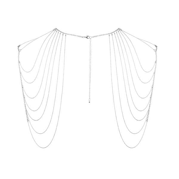 Bijoux Shoulder & Back Chain Silver