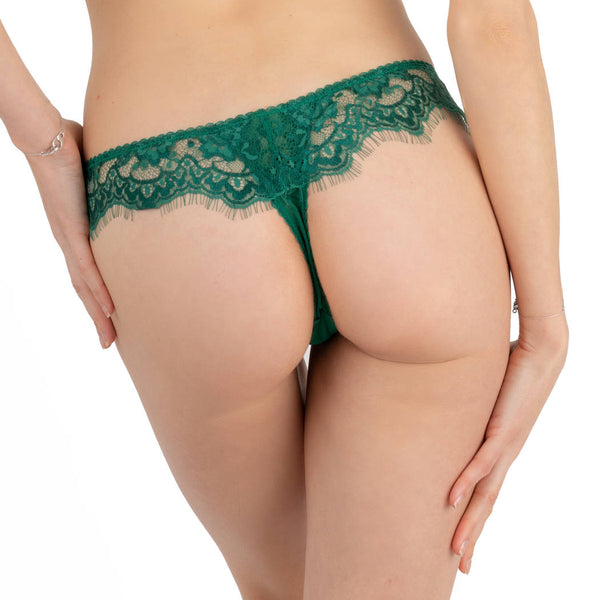 Marlene Evergreen Thong