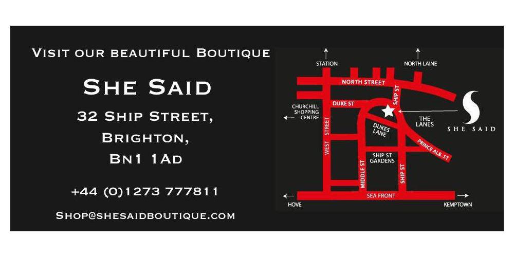 She Said Erotic Boutique - Brighton's No 1 Adult boutique