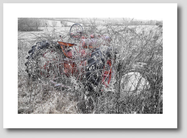 Abandoned Farmall Tractor