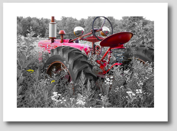 Abandoned Farmall H Tractor